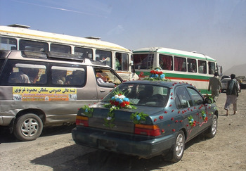 Afghan Wedding Caravan