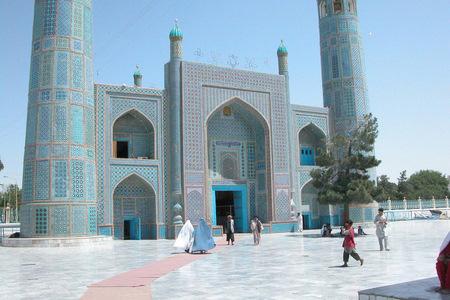 Blue Mosque Front Entrance