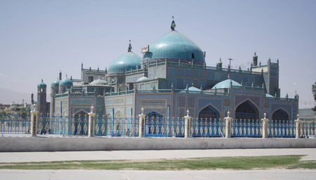 Mazar Blue Mosque Big View
