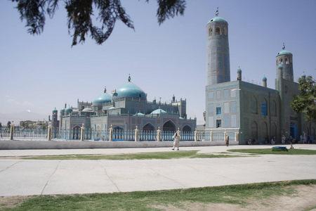 Blue Mosque and Shrine