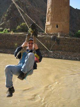 minaret of Jam zipline