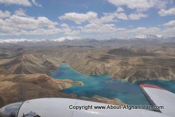 Band-e-Amir in summer
