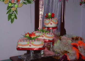 Afghan Wedding Cake