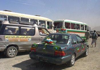 Afghan Wedding Caravan