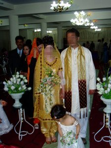 Afghan wedding bride