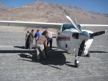Remote Afghanistan Airstrip