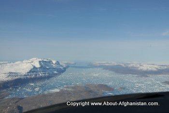 Band-e-Amir in winter