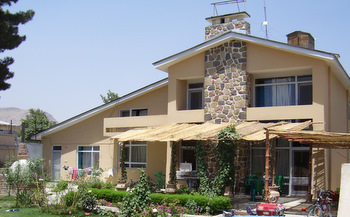 house in kabul