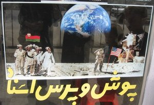 Afghans on the Moon