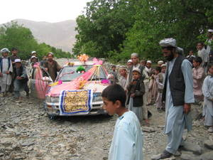 Afghan Wedding Car