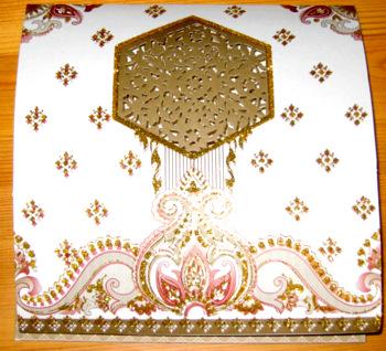 afghan wedding invitation